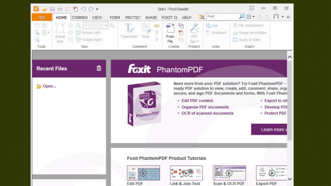 Foxit Reader: PDF-Dateien öffnen ©COMPUTER BILD