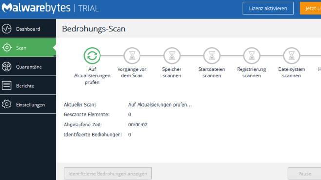 Malwarebytes: Schadprogramme ausfindig machen ©COMPUTER BILD