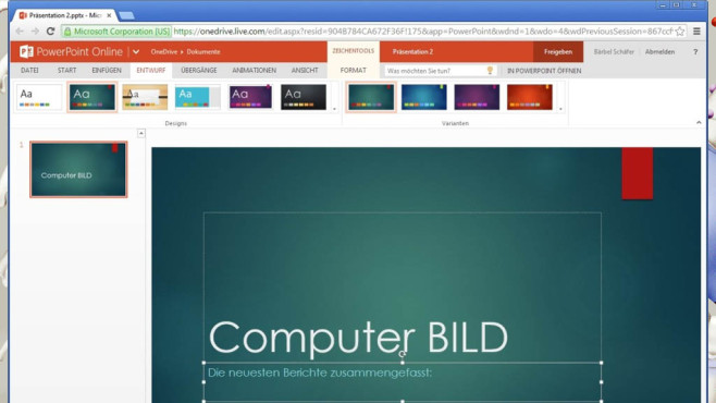 Platz 44: Microsoft Office Web-Apps (neu) ©COMPUTER BILD