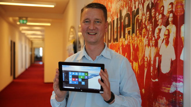 Windows-10-Tablet im Test © COMPUTER BILD
