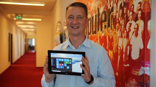 Windows-10-Tablet im Test ©COMPUTER BILD