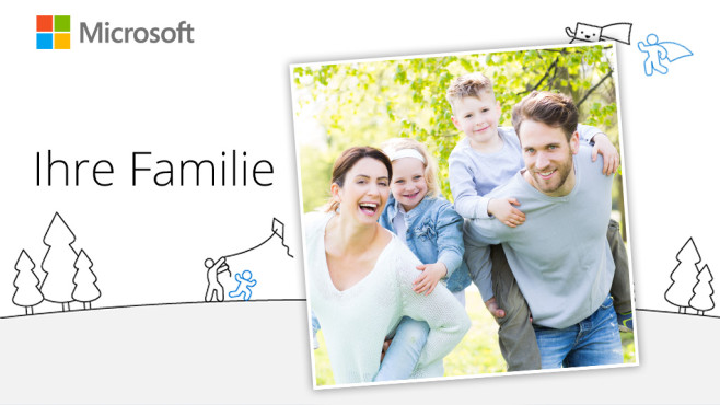 Microsoft Family ©Microsoft, drubig-photo - Fotolia.com