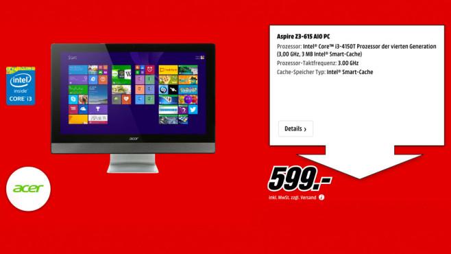 Acer Aspire Z3-615 ©Media Markt