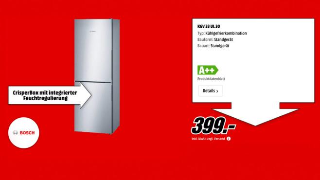 Bosch KGV33UL30 ©Media Markt