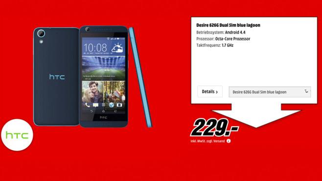 HTC Desire 626G ©Media Markt