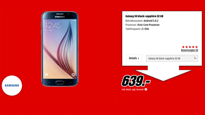 Samsung Galaxy S6 © Media Markt