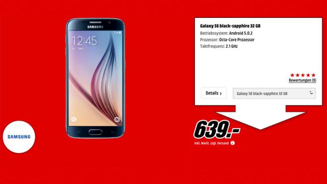 Samsung Galaxy S6 ©Media Markt