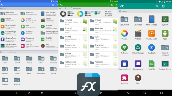 FX File Explorer © NextApp, Inc.