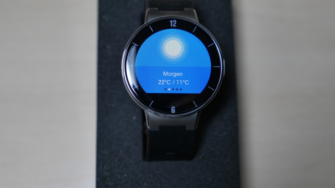 Alcatel Watch im Test © COMPUTER BILD