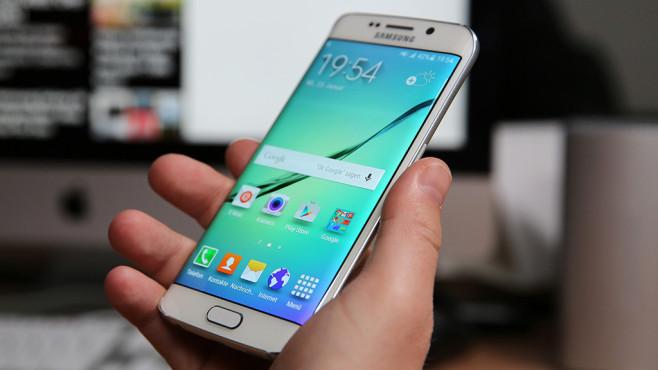 Samsung Galaxy S6 Edge mit LTE-Allnet-Flat ©COMPUTER BILD