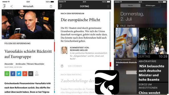 F.A.Z. Der Tag ©Frankfurter Allgemeine Zeitung GmbH