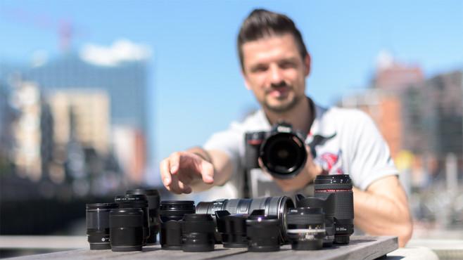 Objektive für Systemkameras und DSLR ©COMPUTER BILD