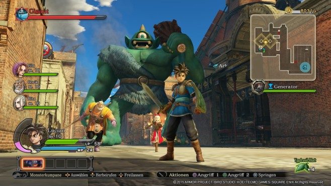 Dragon Quest � Heroes © Square Enix