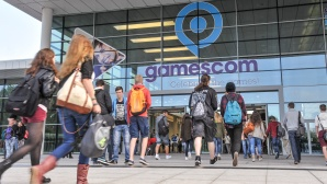 Gamescom: Hallen-Eingang ©Gamescom