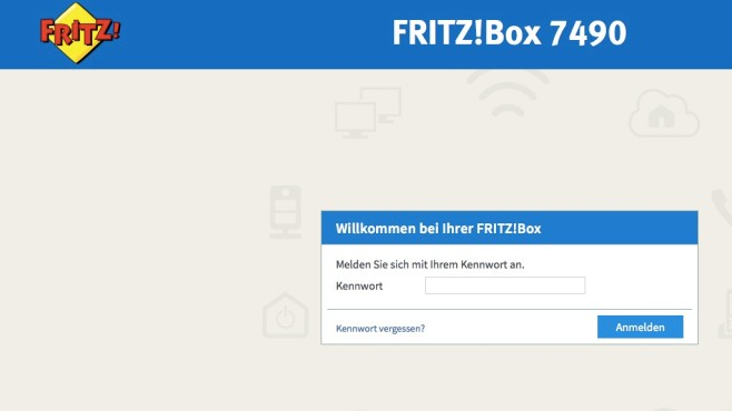 Fritz Box-Menü aufrufen ©COMPUTER BILD