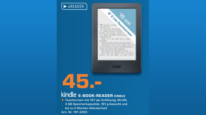 Kindle 2014 © Saturn