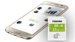 Toshiba NFC SDHC ©samsung, Toshiba, COMPUTER BILD