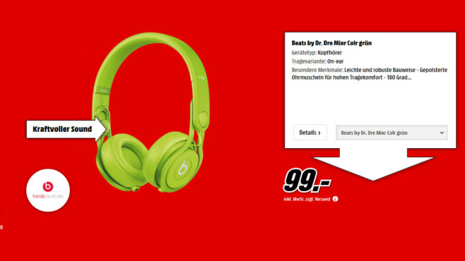 Beats By Dre Mixr © Media Markt