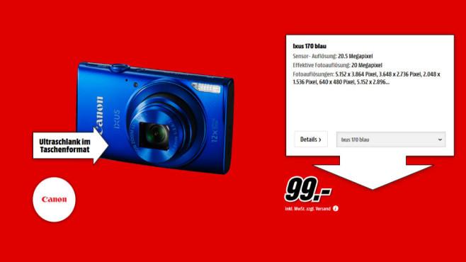 Canon IXUS 170 ©Media Markt