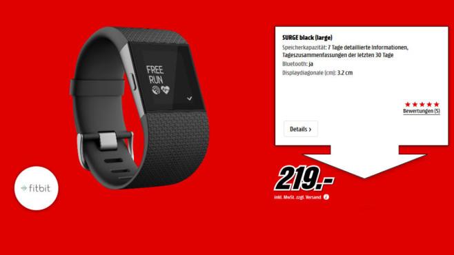 Fitbit Surge ©Media Markt