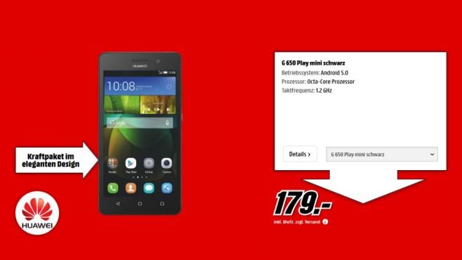 Huawei G Play Mini ©Media Markt