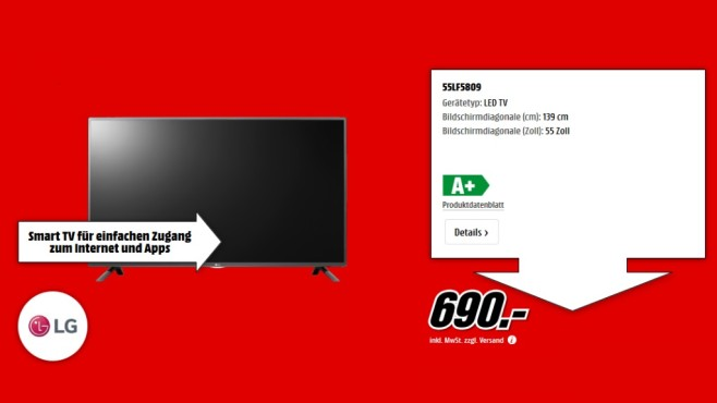 LG 55LF5809 ©Media Markt