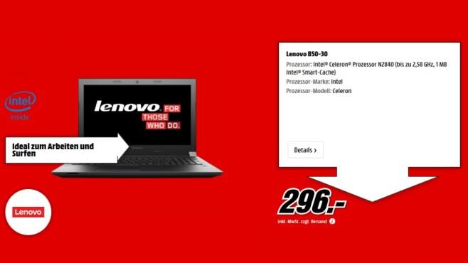 Lenovo B50-30 ©Media Markt