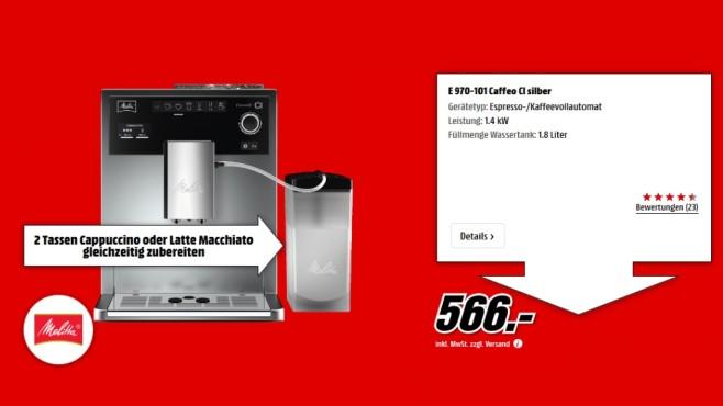 Melitta Caffeo CI E 970-101 ©Media Markt