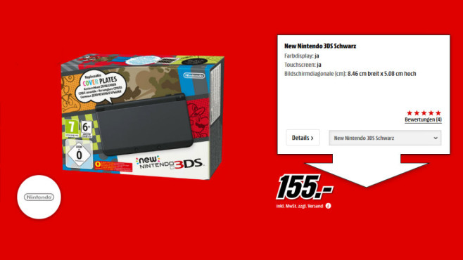 Nintendo New 3DS © Media Markt