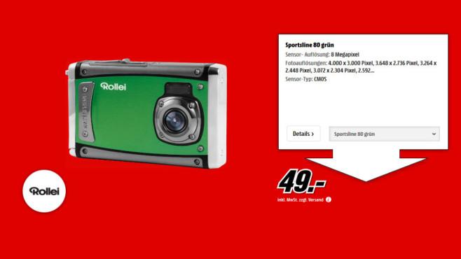 Rollei Sportsline 80 ©Media Markt