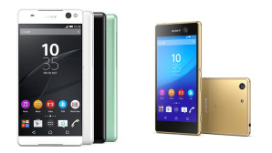 Sony Xperia C5 Ultra und M5 ©Sony