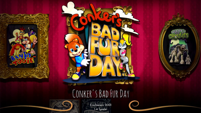 Conker's Bad Fur Day © Microsoft/Rare