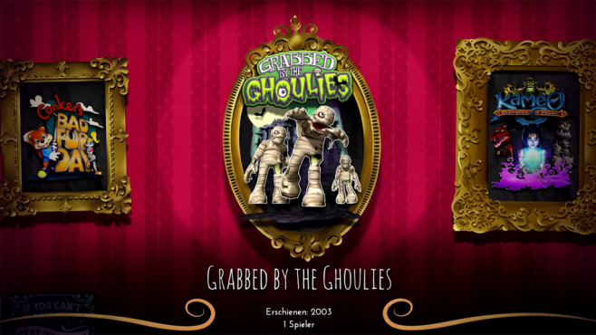 Grabbed by the Ghoulies © Microsoft/Rare