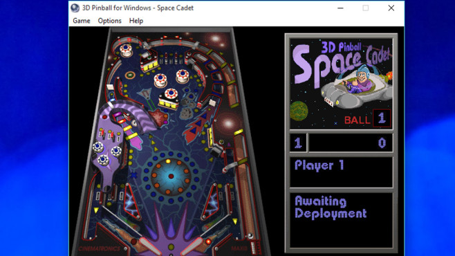 Microsoft 3D Pinball: Spielspaß für flinke Hände ©COMPUTER BILD