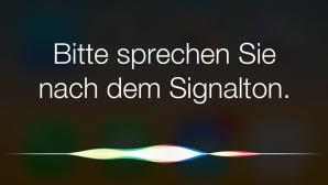 Siri als Anrufbeantworter ©Apple, COMPUTER BILD