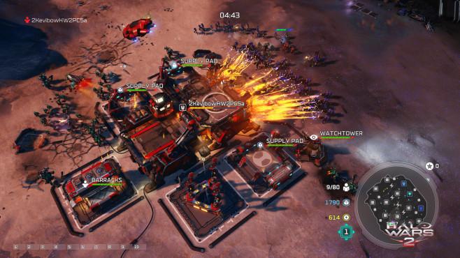 Halo Wars 2: Science-Fiction-Strategie vom Feinsten Der reguläre Mehrspieler-Modus bietet zum Start drei Spielmodi sowie acht sehr abwechslungsreiche Karten. ©343 Studios, Microsoft