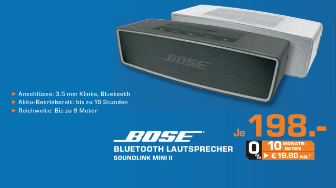 Bose SoundLink Mini II © Saturn