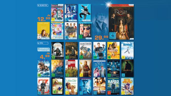 Filme und Serien auf DVD ©Saturn