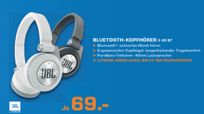 JBL Synchros E40BT ©Saturn