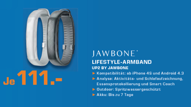 Jawbone UP2 © Saturn