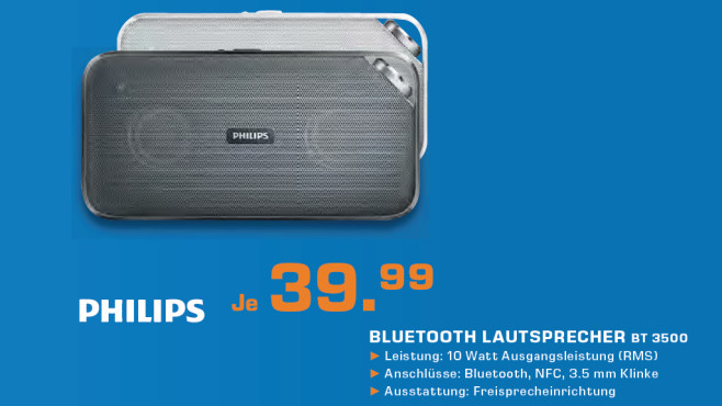 Philips BT3500B © Saturn
