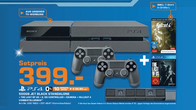 PlayStation 4 Mega-Bundle © Saturn