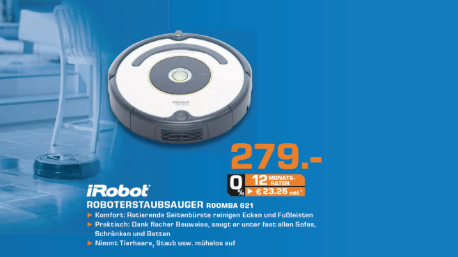iRobot Roomba 621 © Saturn