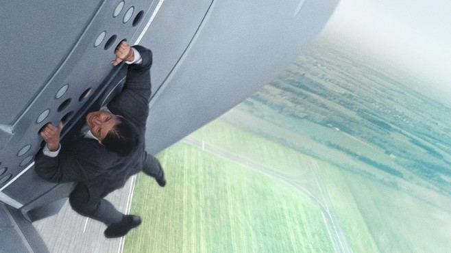 Mission: Impossible - Rogue Nation: Tom Cruise © Paramount Pictures