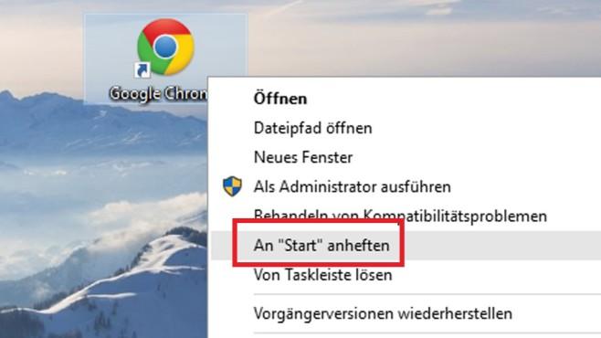 Programmeinträge hinzufügen ©COMPUTER BILD