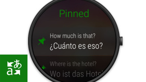 Translator auf Apple Watch © Microsoft
