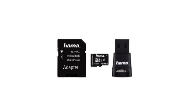 Hama 16 GB micro SDHC Karte UHS-I ©Hama
