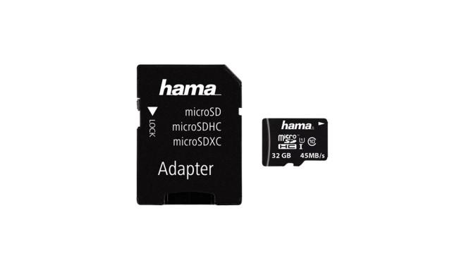 Hama microSDHC 32GB Class 10 UHS-I ©Hama