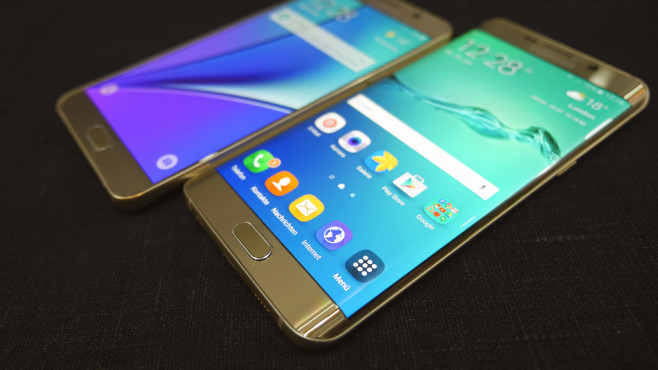 Galaxy Note 5 und Galaxy S6 Edge+ © COMPUTER BILD