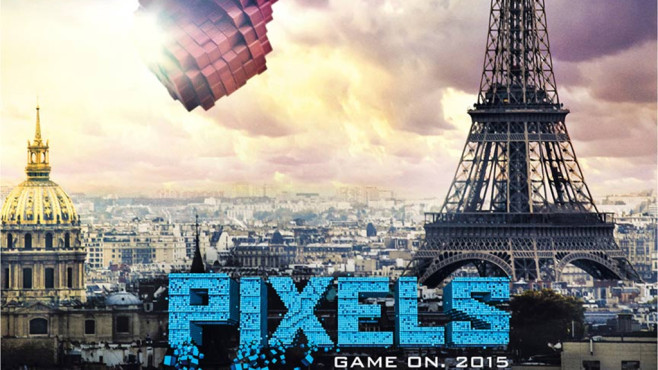 Pixels Poster © Columbia Pictures